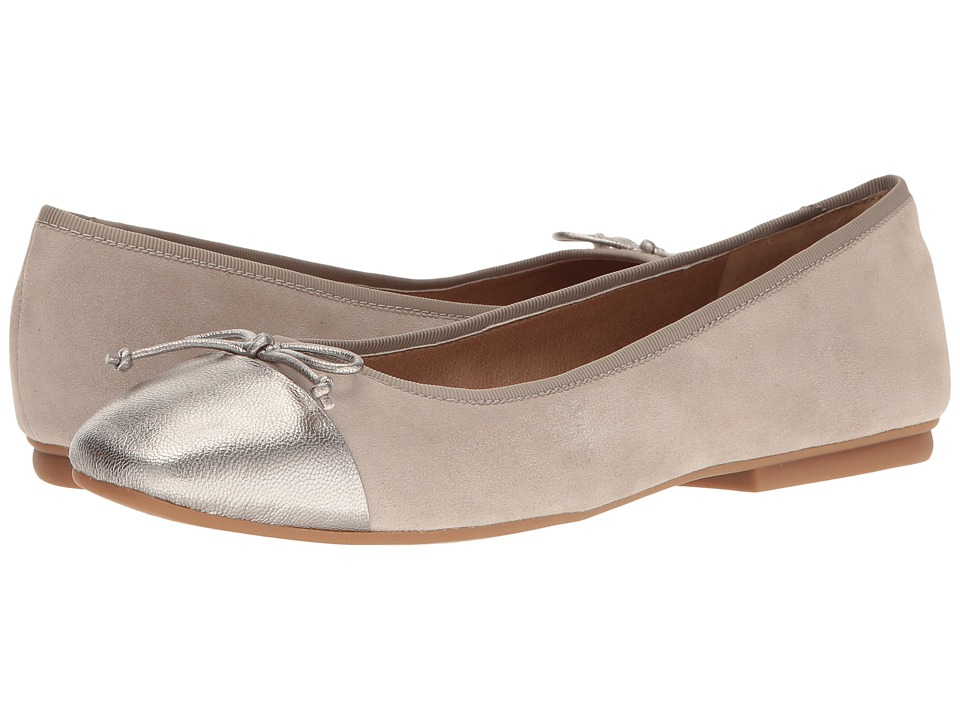 Tahari - Intel (Stone Suede/Leltro Jersey Metallic) Women's Shoes