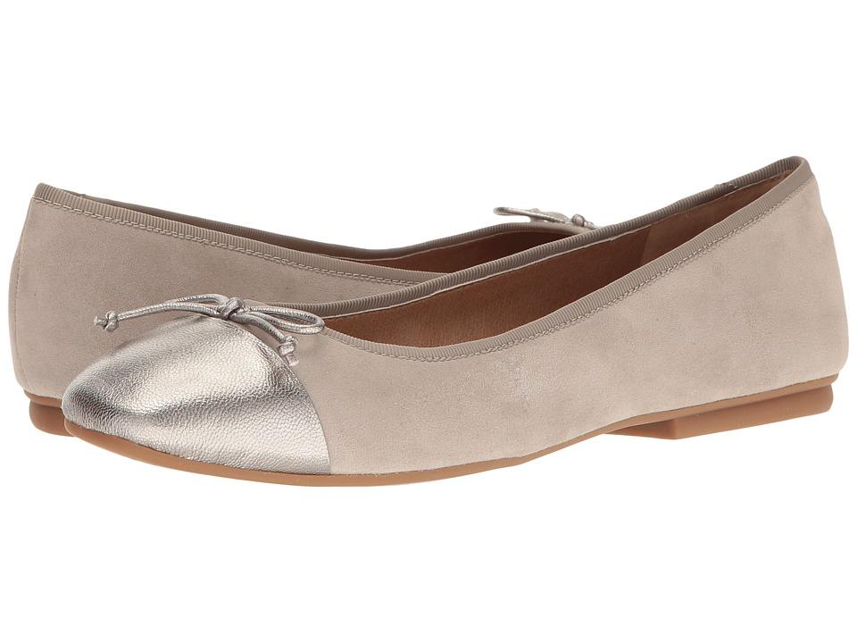 Tahari - Intel (Stone Suede/Leltro Jersey Metallic) Women's Shoes