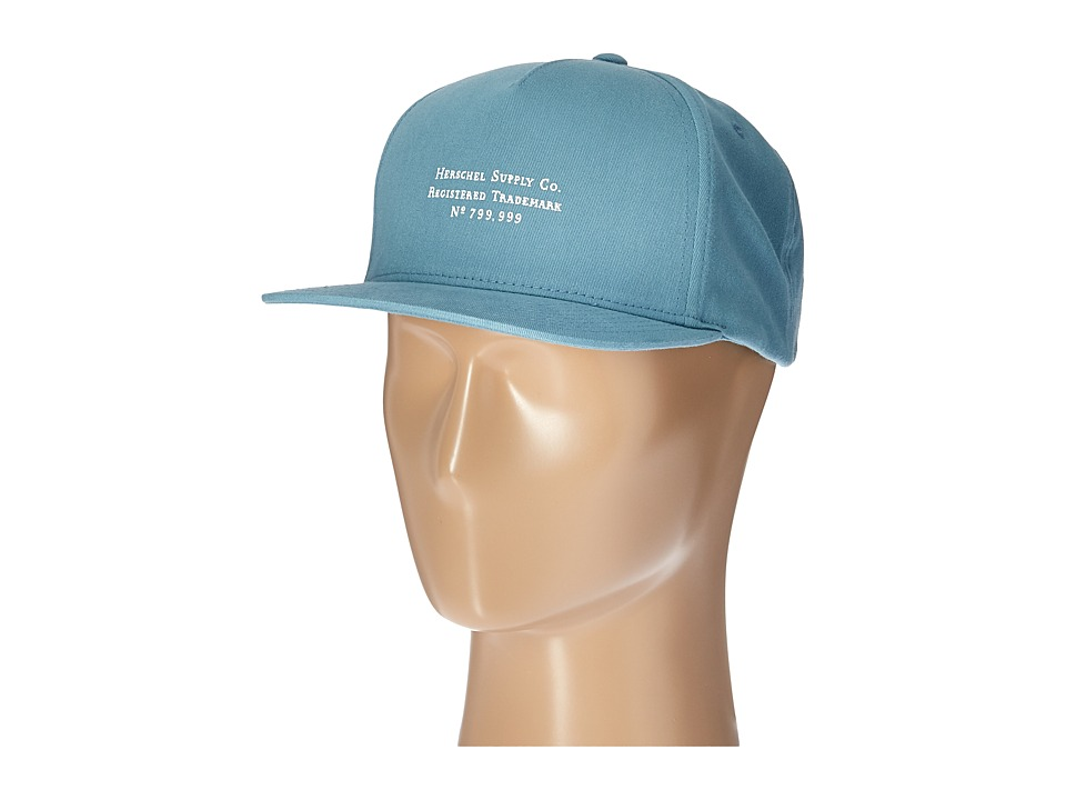 Herschel Supply Co. - Trademark (Stone Blue) Caps
