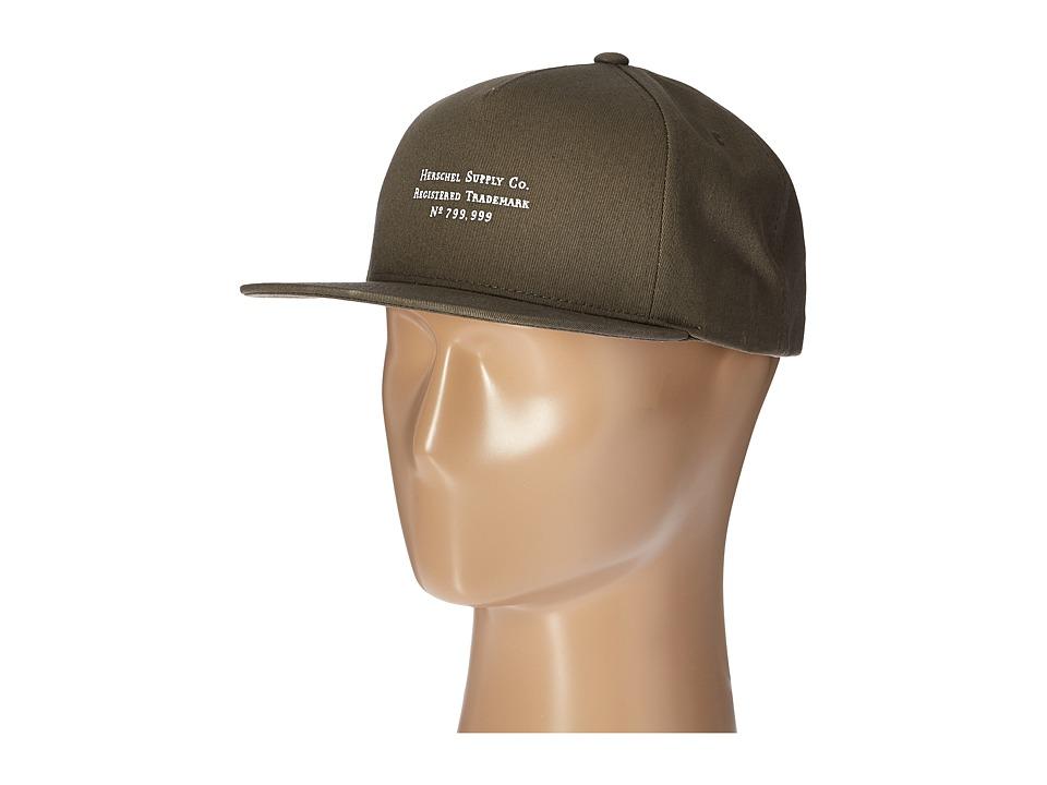 Herschel Supply Co. - Trademark (Dark Pewter) Caps