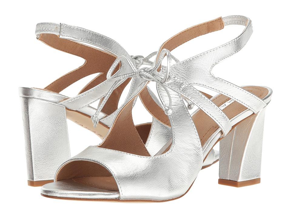 Tahari - Night (Silver Jersey Metallic) High Heels