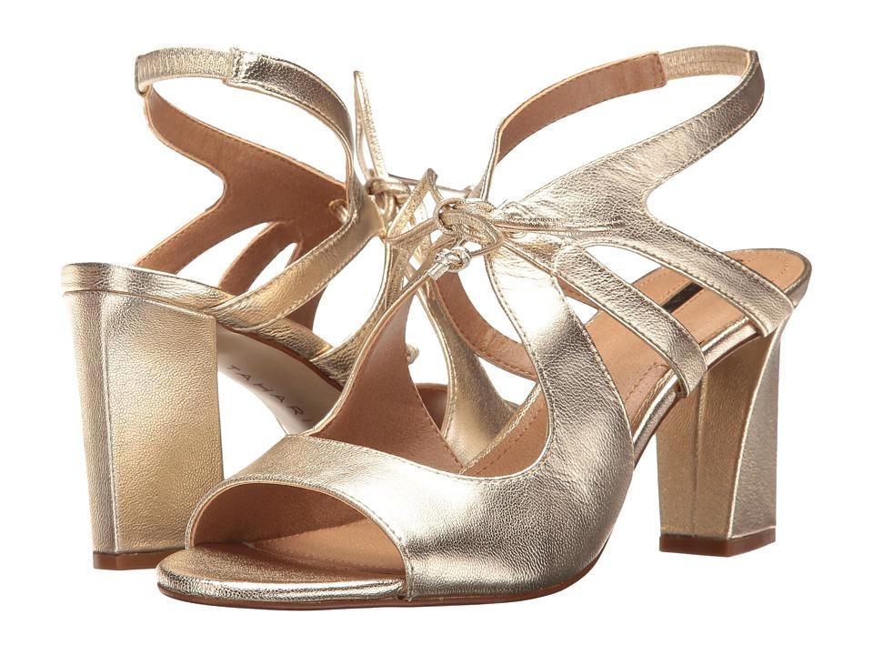 Tahari - Night (Platino Jersey Metallic) High Heels