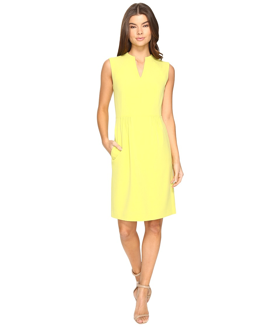 Tahari by ASL - Paperbag Waist A-Line (Kiwi) Women's Dress