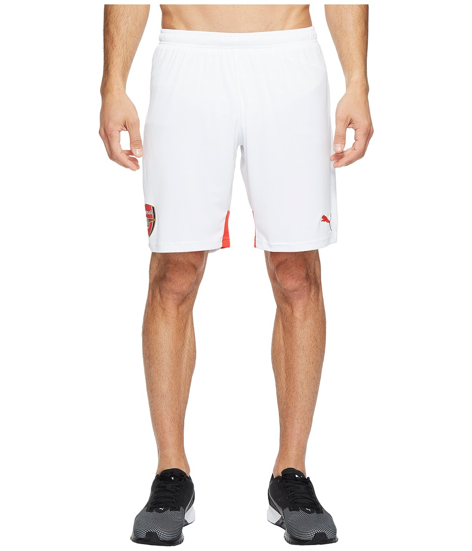PUMA - Afc Replica Shorts (White/High Risk Red) Men's Shorts