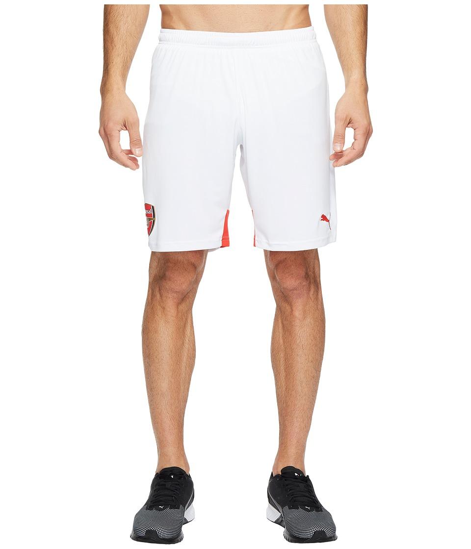 PUMA - Afc Replica Shorts (White/High Risk Red) Men's Shorts