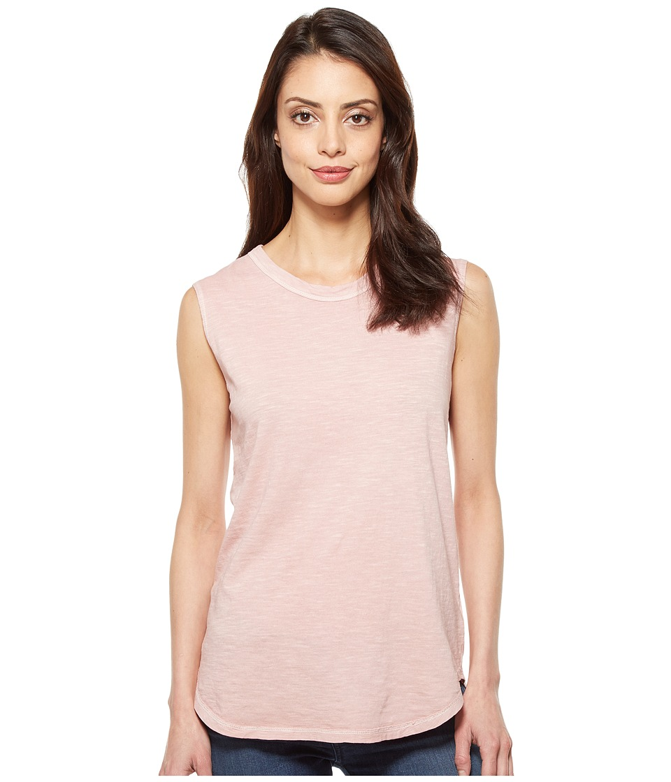 Alternative - Inside Out Slub Sleeveless T-Shirt (Rose Quartz Pigment) Women's Sleeveless