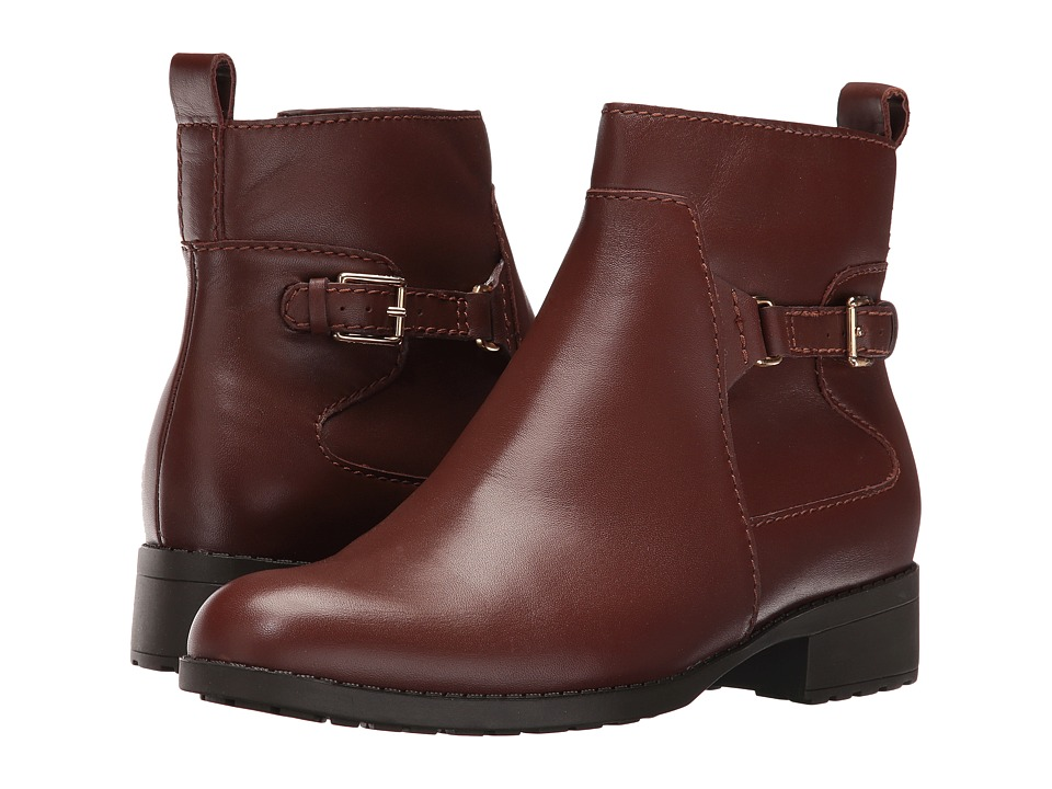 Cole Haan - Evren Waterproof Bootie (Harvest Brown) Women's Waterproof Boots