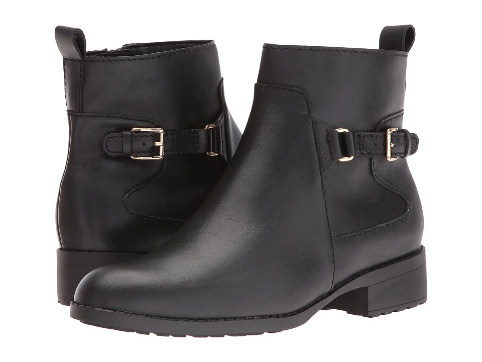 Cole Haan - Evren Waterproof Bootie (Black) Women's Waterproof Boots