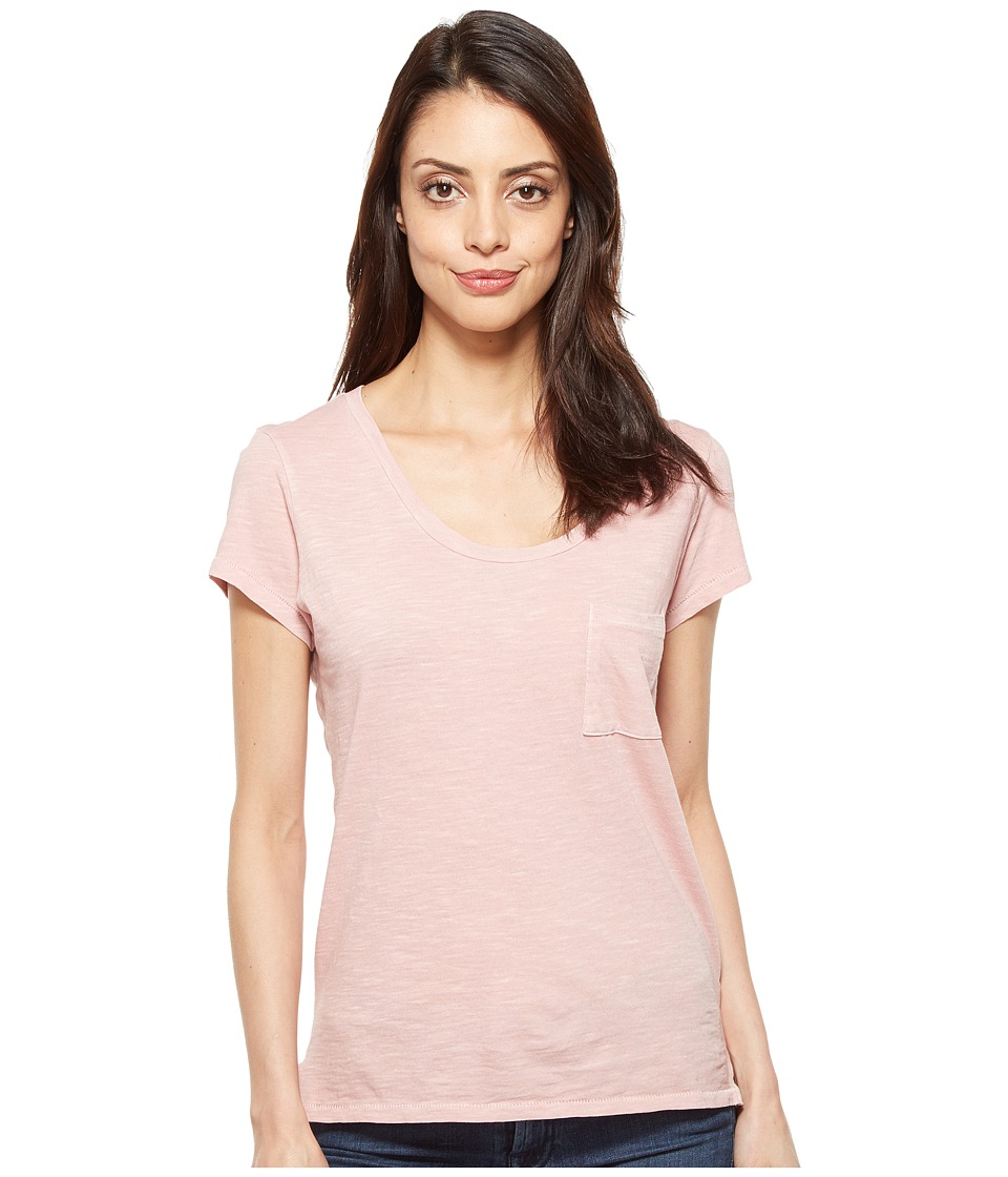 Alternative - Slub Favorite Tee (Rose Quartz Pigment) Women's T Shirt