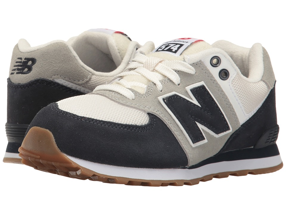 New Balance Kids - KL574v1 (Big Kid) (Blue/White) Boys Shoes