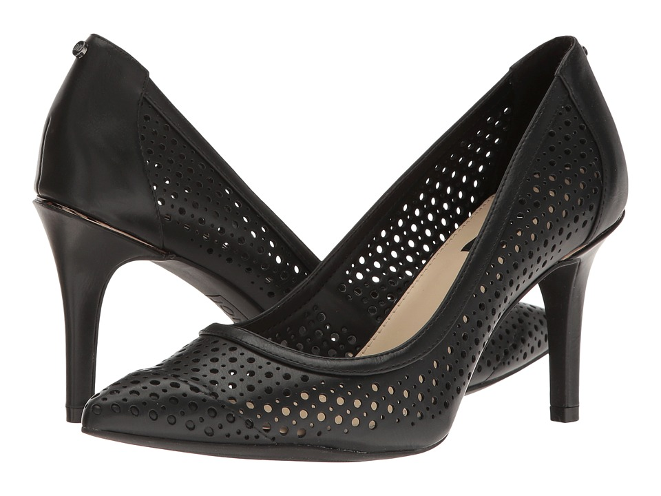 Jones New York - Delta Perf (Black Smooth Burnished) High Heels