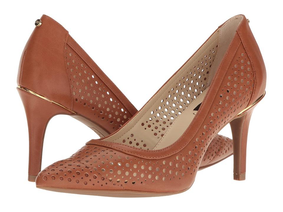 Jones New York - Delta Perf (Tan Calf Smooth) High Heels