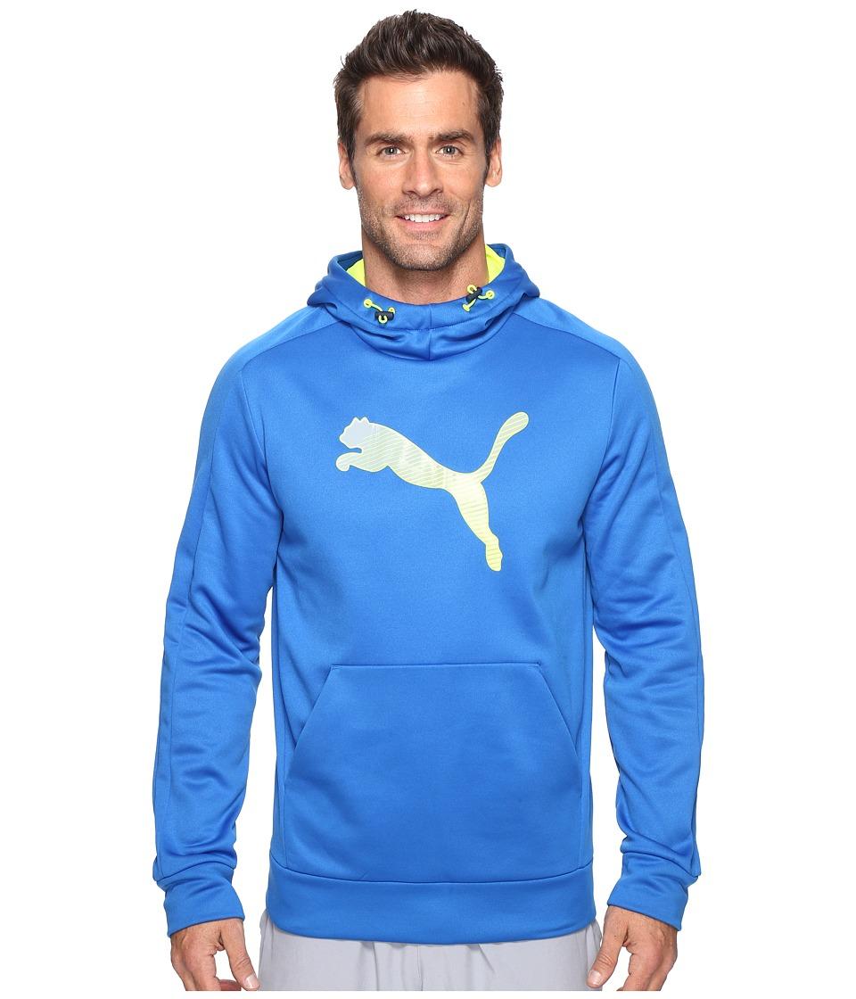 PUMA - Striker Tec Hoodie Fleece (Puma Royal) Men's Sweatshirt
