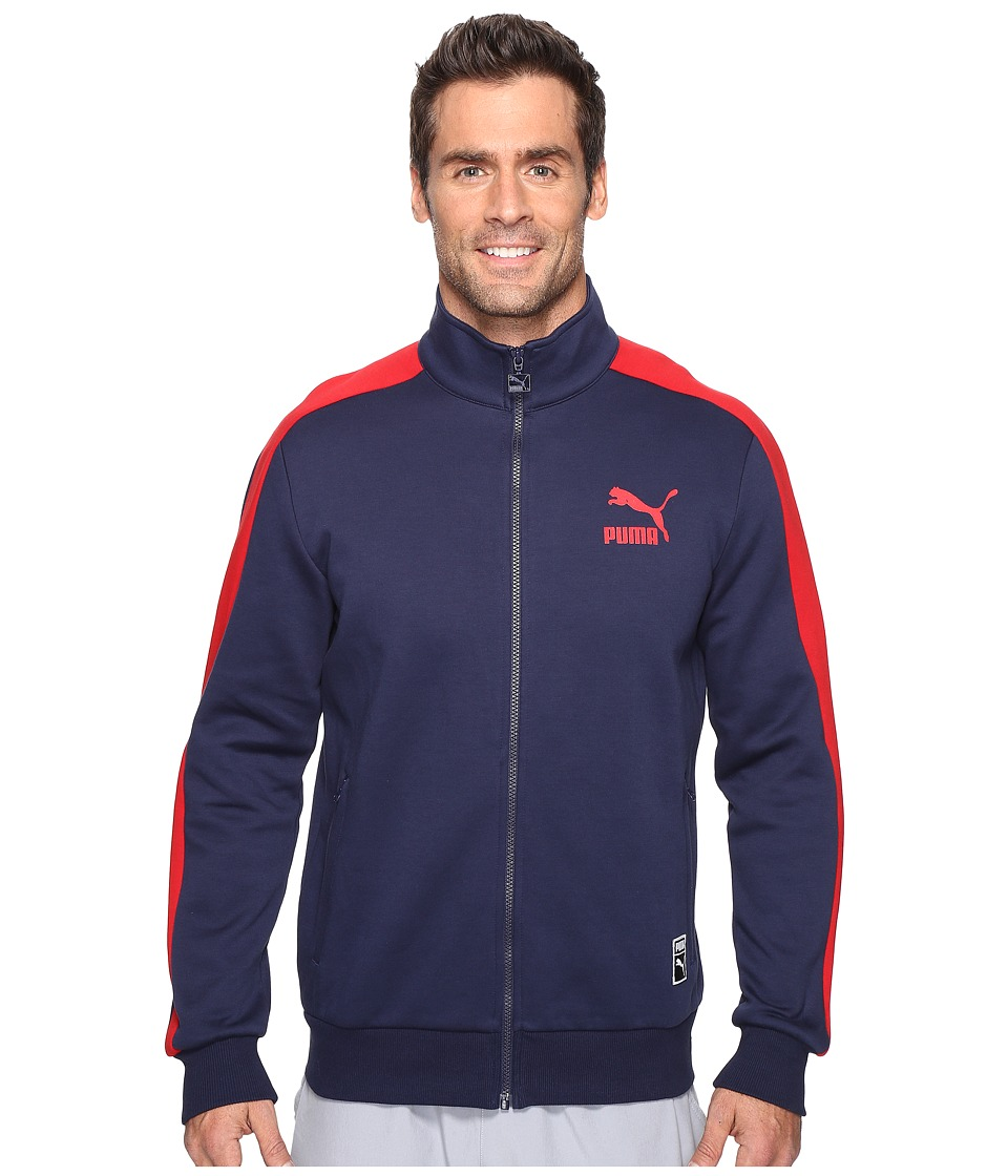 PUMA - T7 Track Jacket (Peacoat 2) Men's Coat