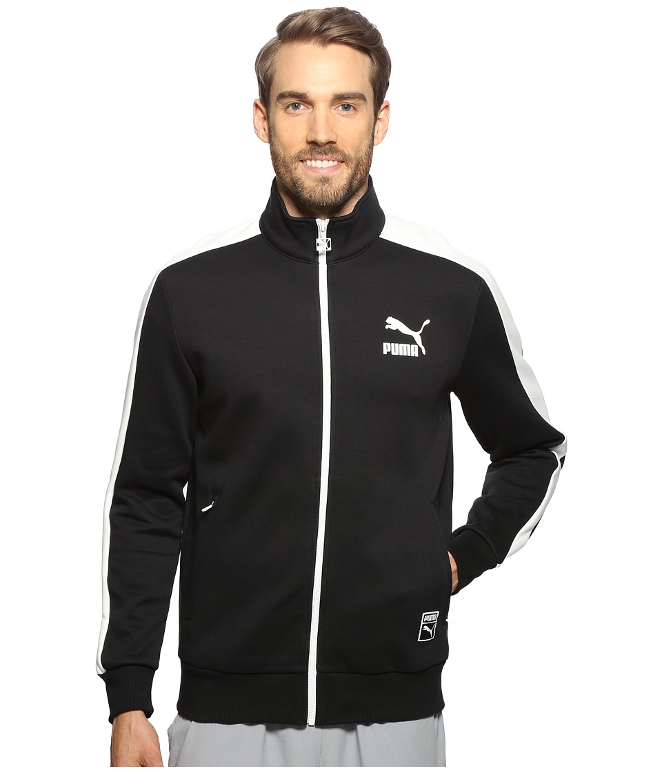 PUMA - T7 Track Jacket (PUMA Black) Men's Coat
