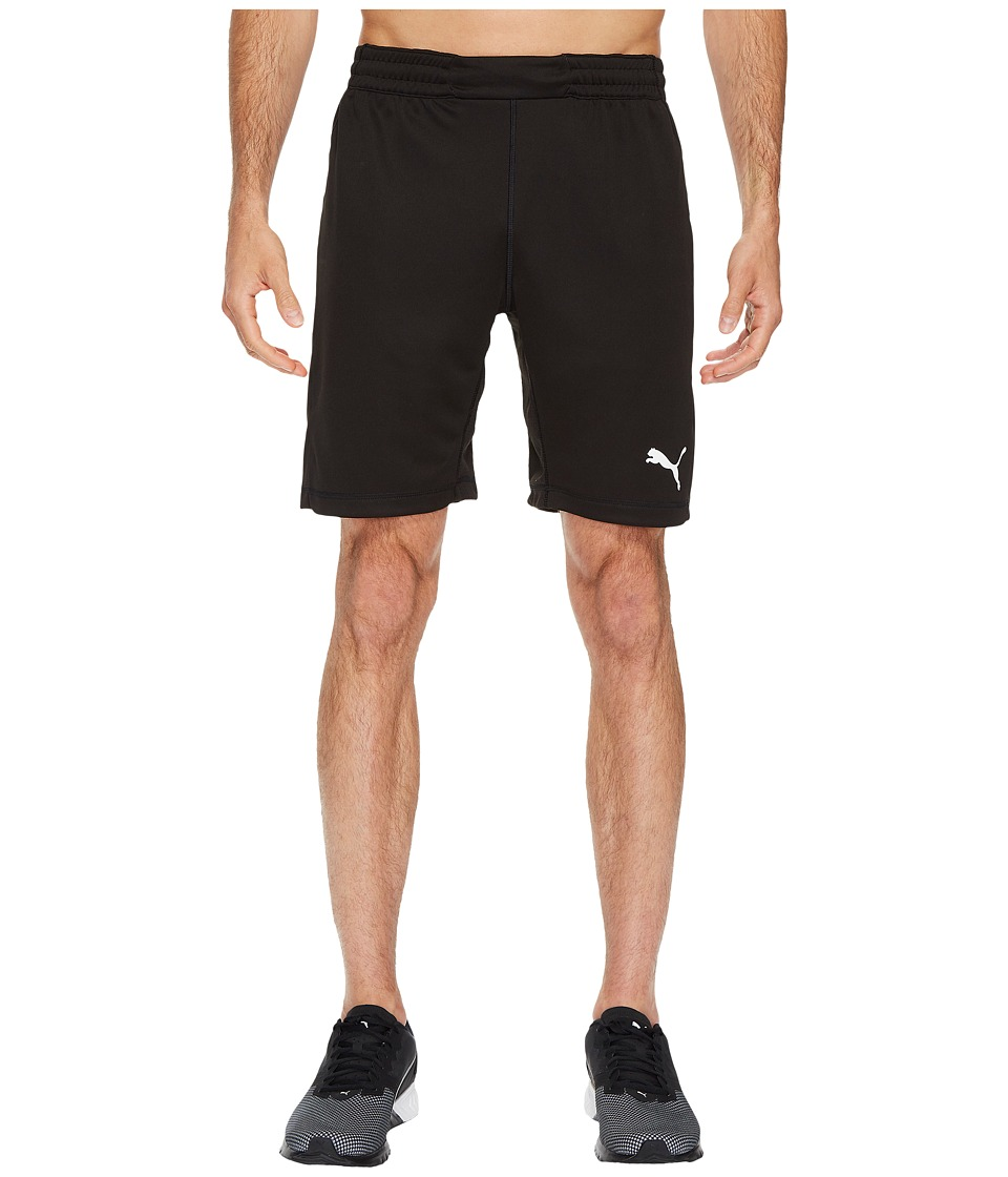 PUMA - GK Shorts (Black/Ebony) Men's Shorts