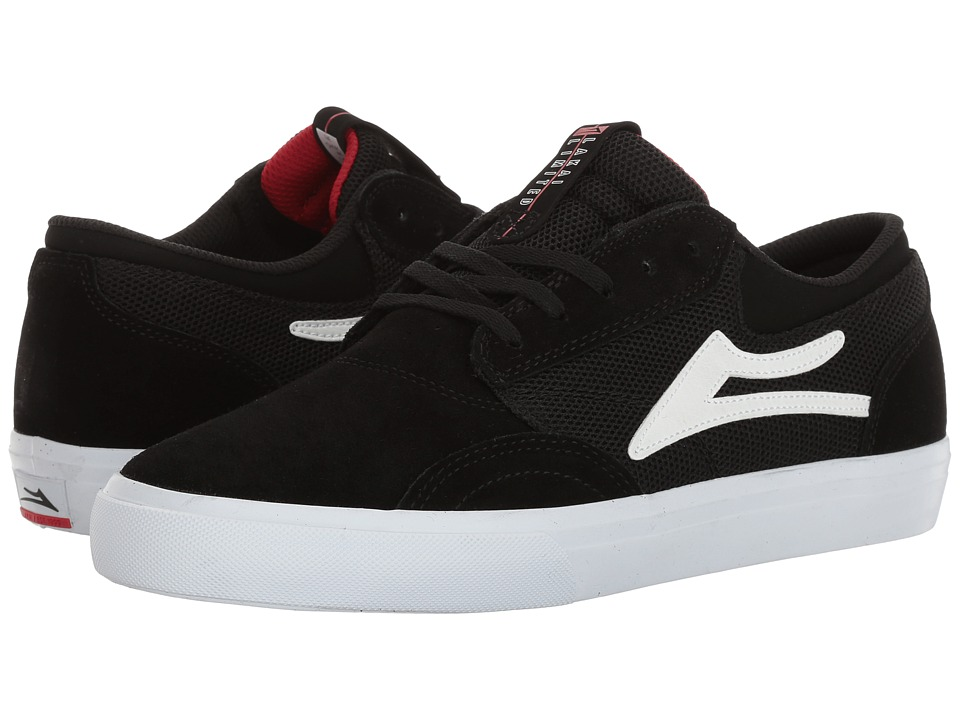 Lakai - Griffin (Black Suede 2) Men's Skate Shoes