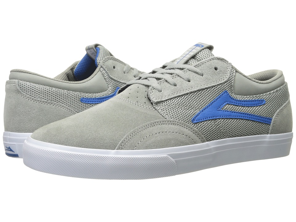 Lakai - Griffin (Grey Suede 2) Men's Skate Shoes