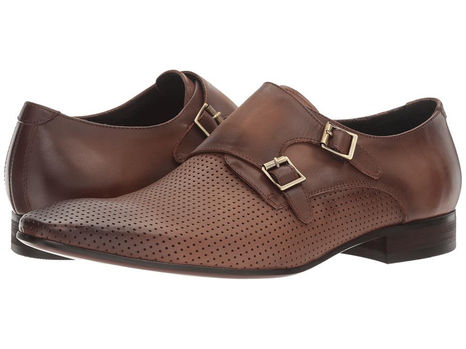 Carrucci - Buckle Up (Brown) Men's Shoes
