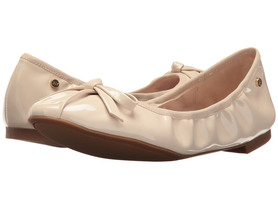 Jones New York - Dara (Nude Smooth Patent) Women's Flat Shoes