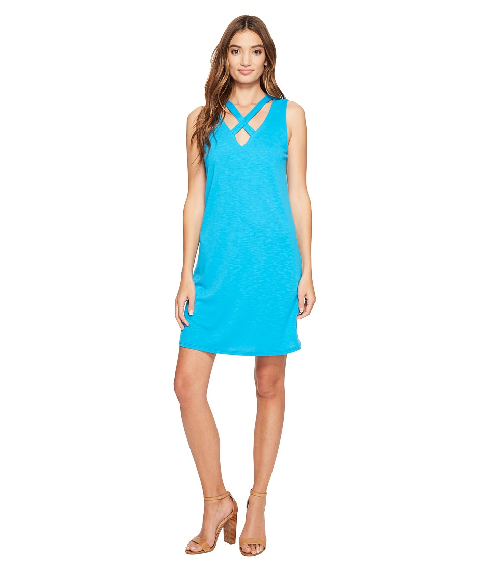 Lanston - X Tank Dress (Splash) Women's Dress