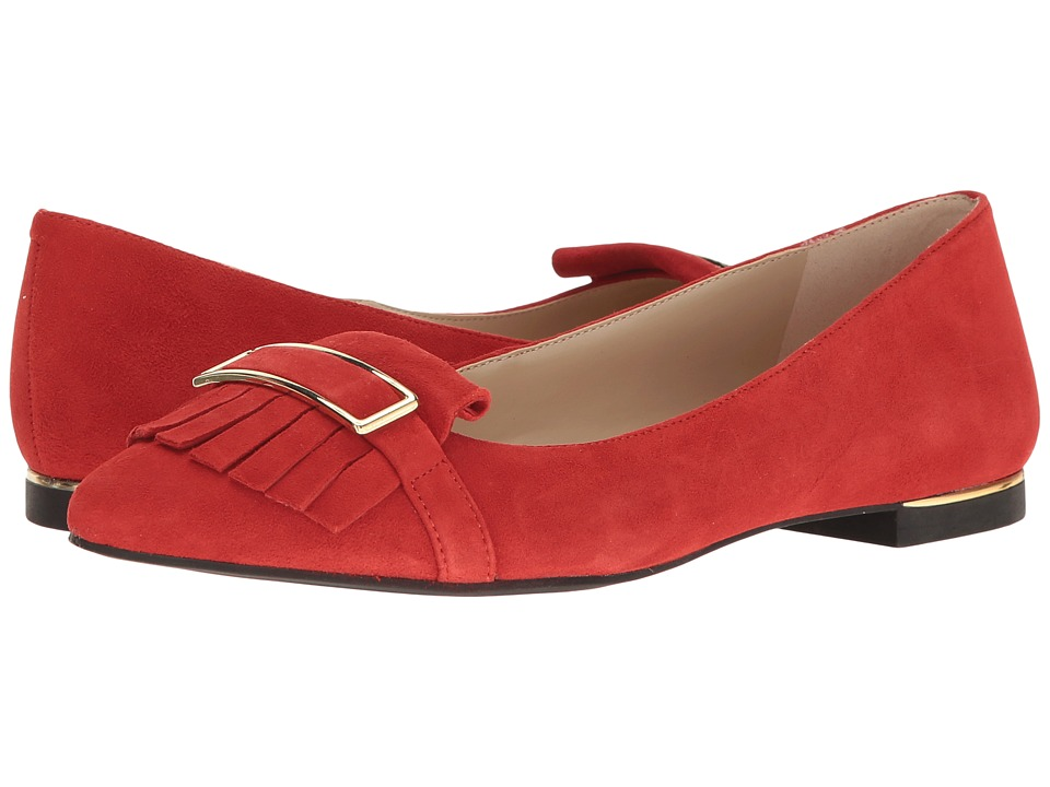 Jones New York - Steff (Poppy Kid Suede) Women's Flat Shoes