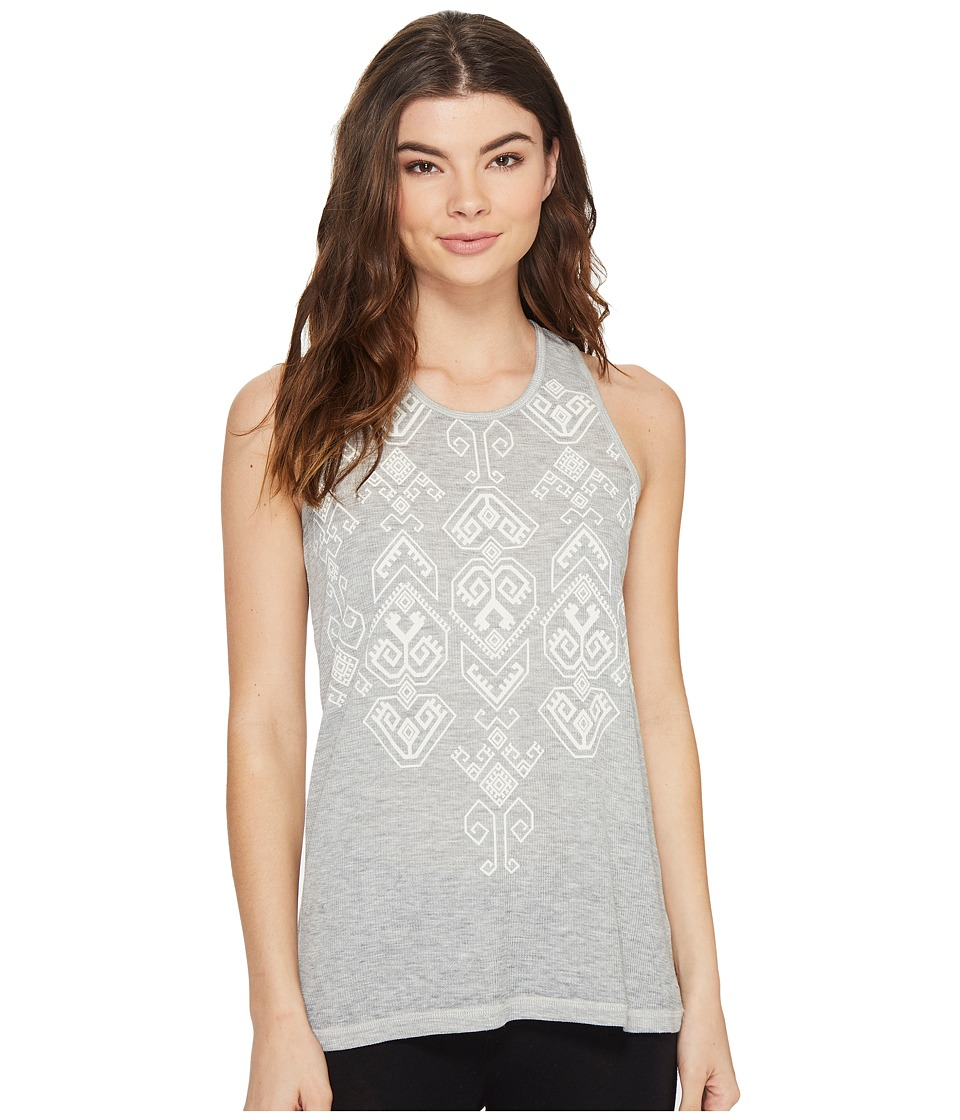 P.J. Salvage - Hello Sunshine Tank Top (Heather Grey) Women's Sleeveless