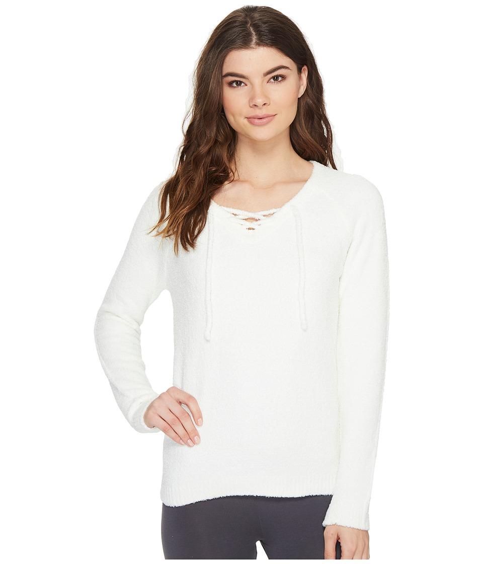 P.J. Salvage - Feather Touch Sweatshirt (Natural) Women's Sweatshirt