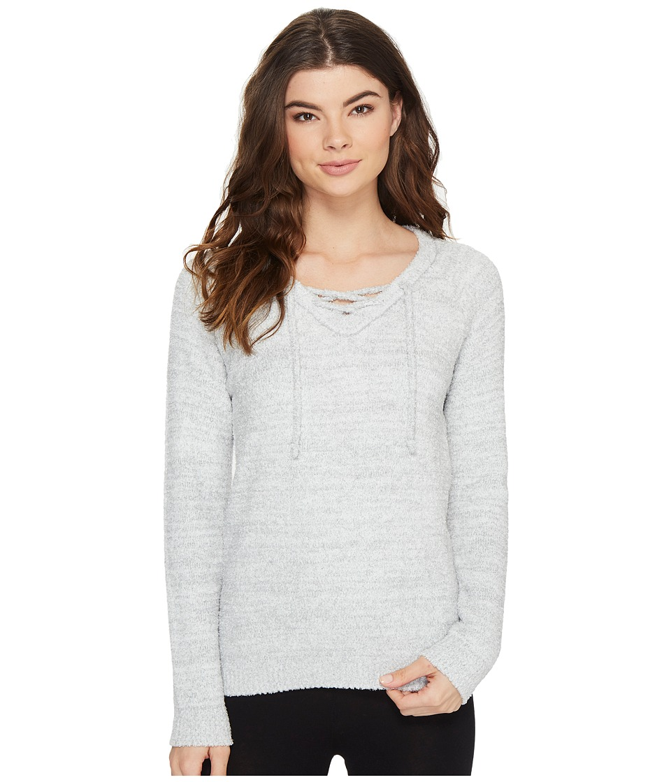P.J. Salvage - Feather Touch Sweatshirt (Heather Grey) Women's Sweatshirt