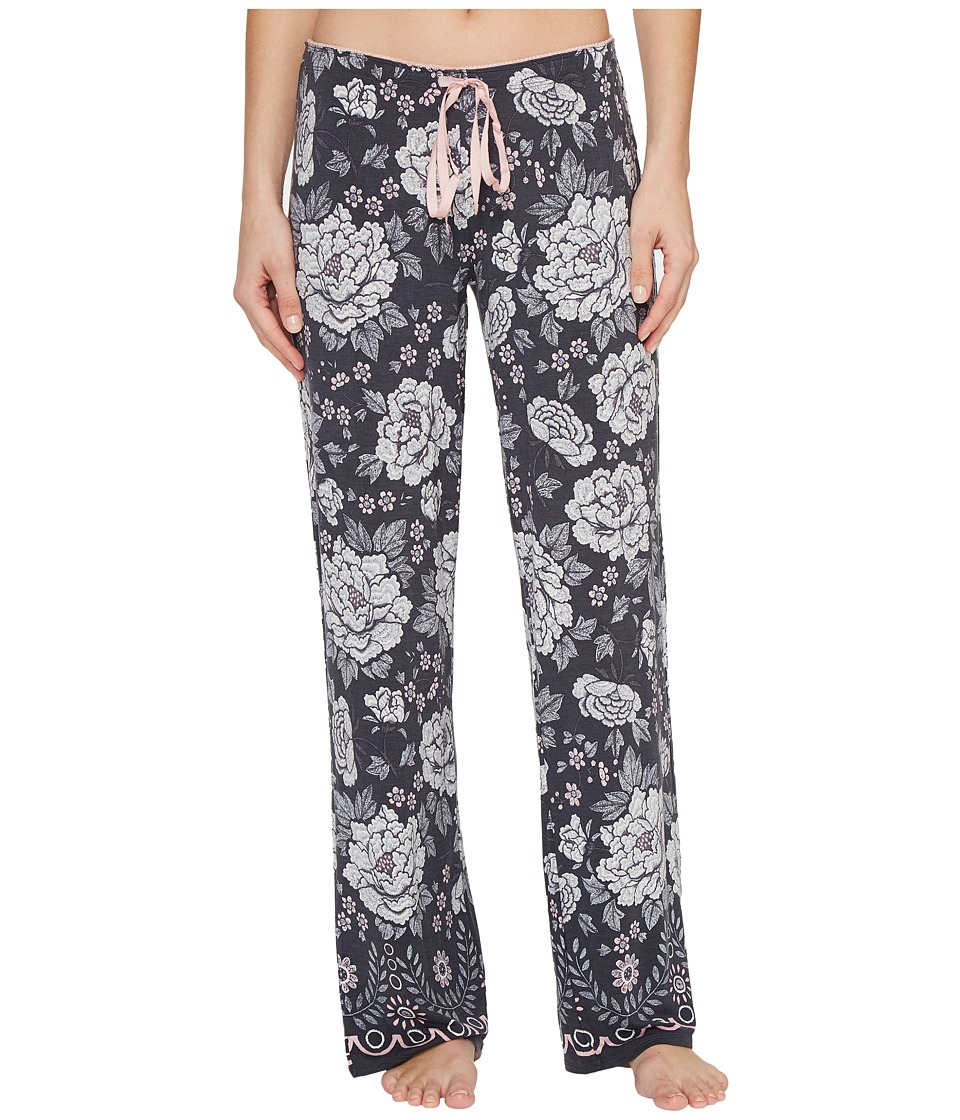 P.J. Salvage - Ever After Lounge Pants (Black) Women's Casual Pants