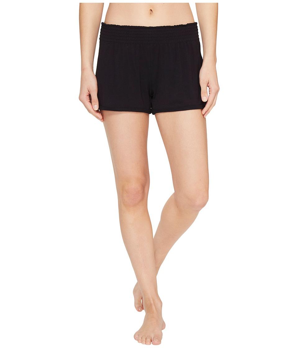 P.J. Salvage - Modal Shorts (Black) Women's Shorts