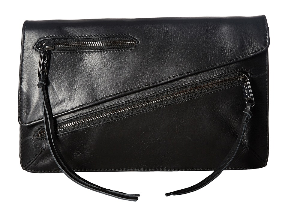 Joe's Jeans - Josie Convertible Clutch (Black) Clutch Handbags