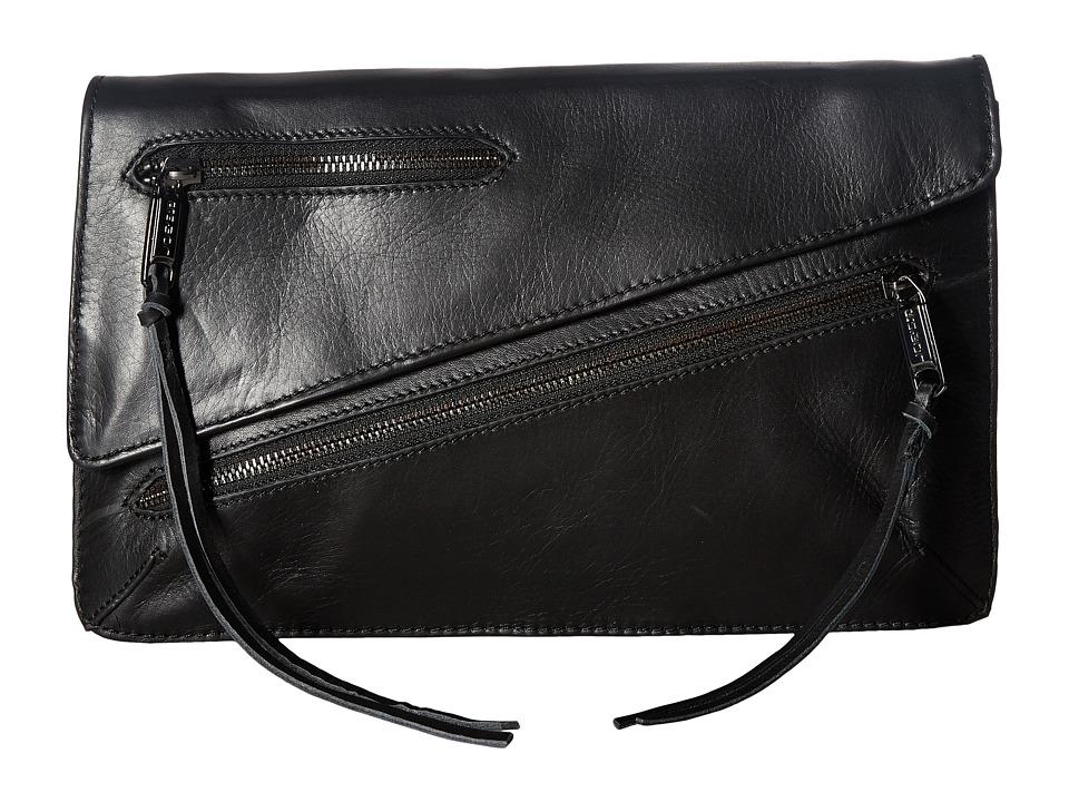 Joe's Jeans - Josie Convertible Clutch (Black) Clutch Handbags