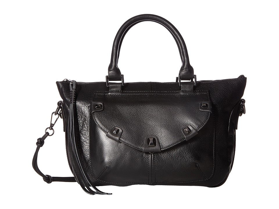 Joe's Jeans - Penelope Satchel (Black) Satchel Handbags