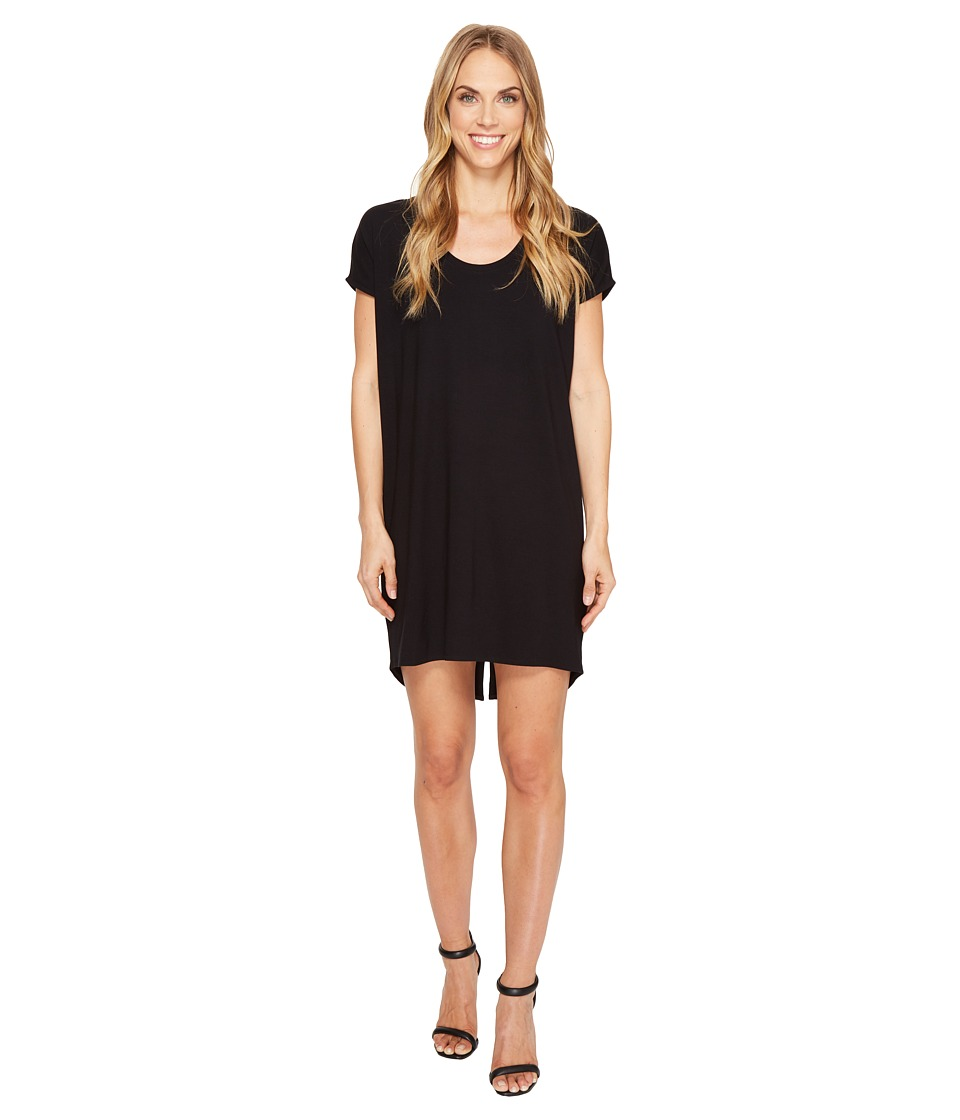 Lilla P - Scoop Neck Dress (Black) Women's Dress