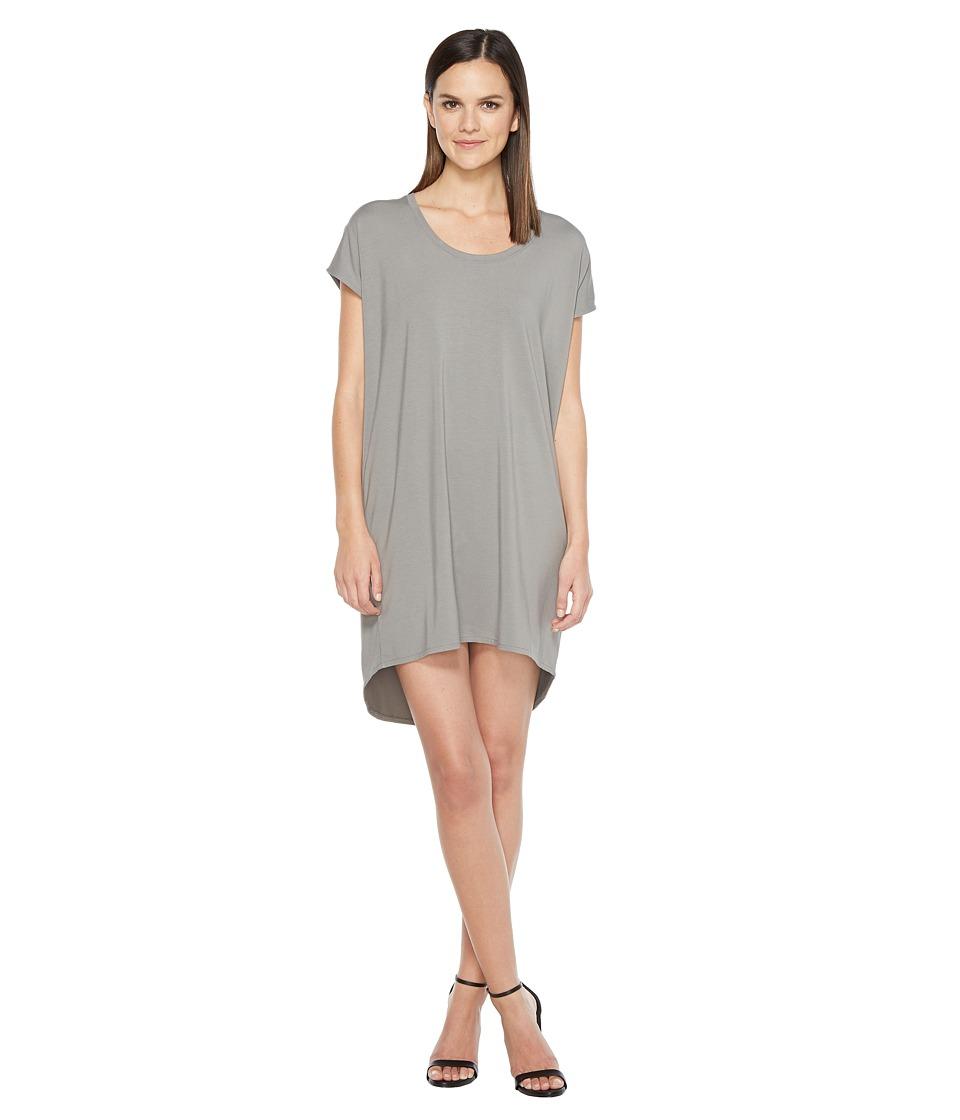 Lilla P - Scoop Neck Dress (Pavement) Women's Dress