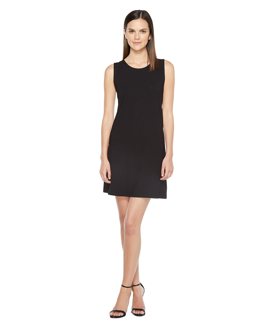 Lilla P Crossed Strap Dress (Black) Women