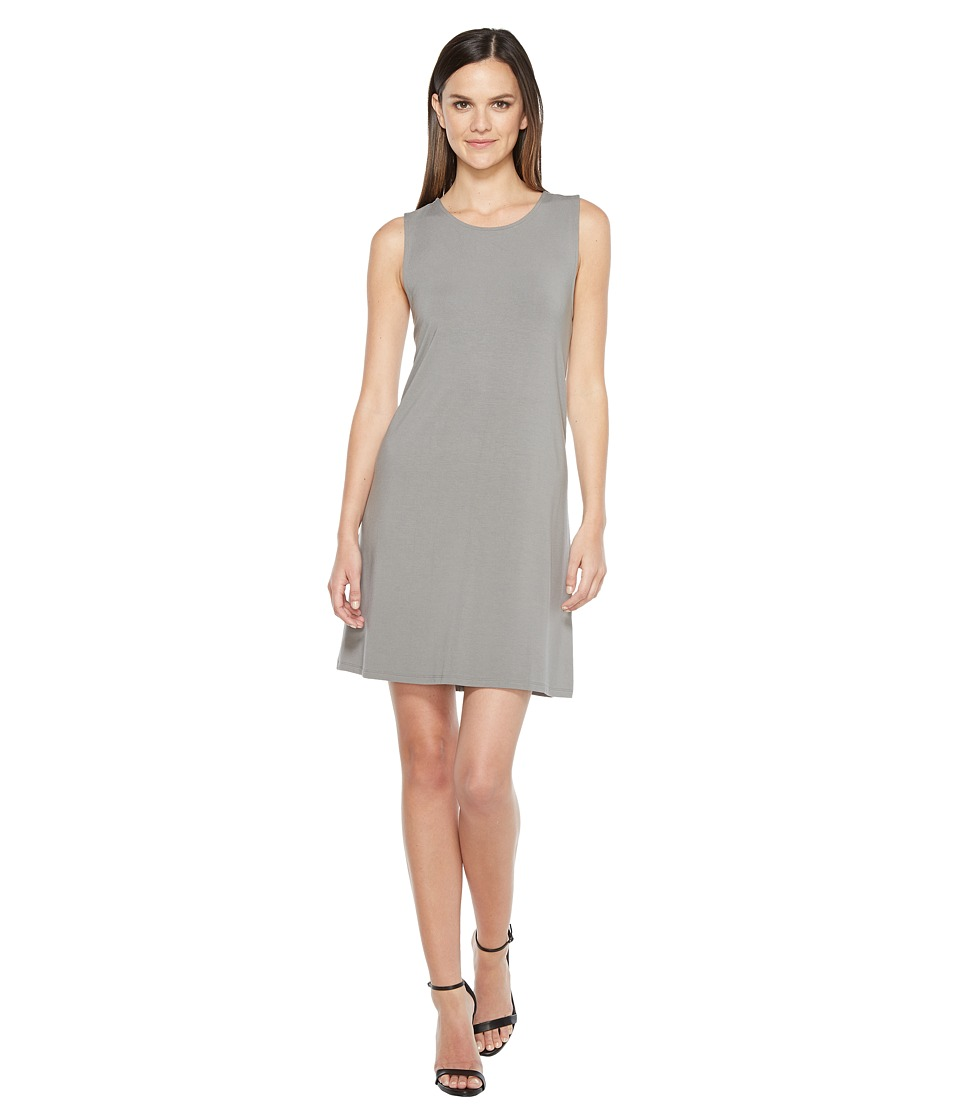 Lilla P Crossed Strap Dress (Pavement) Women
