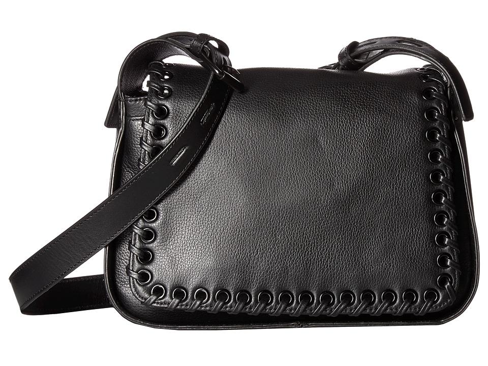 Joe's Jeans - Bella Large Crossbody (Black) Cross Body Handbags