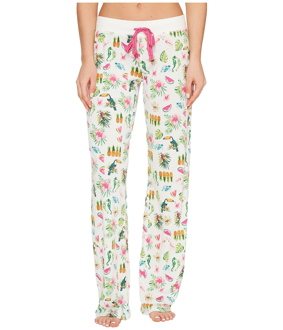 P.J. Salvage - On Vacay PJ Pants (Ivory) Women's Pajama