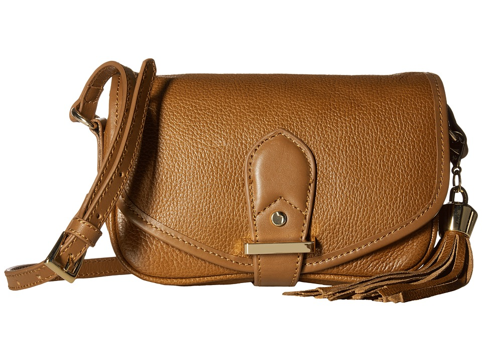 Joe's Jeans - Berkely Small Saddle Bag (Chestnut) Shoulder Handbags