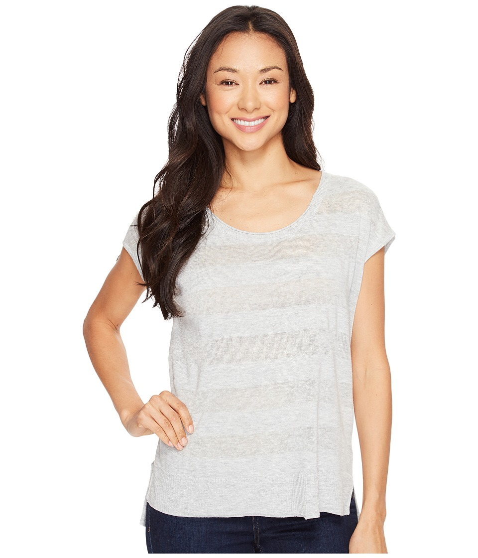 Lilla P - Scoop Neck Pullover (Heather Grey) Women's Clothing