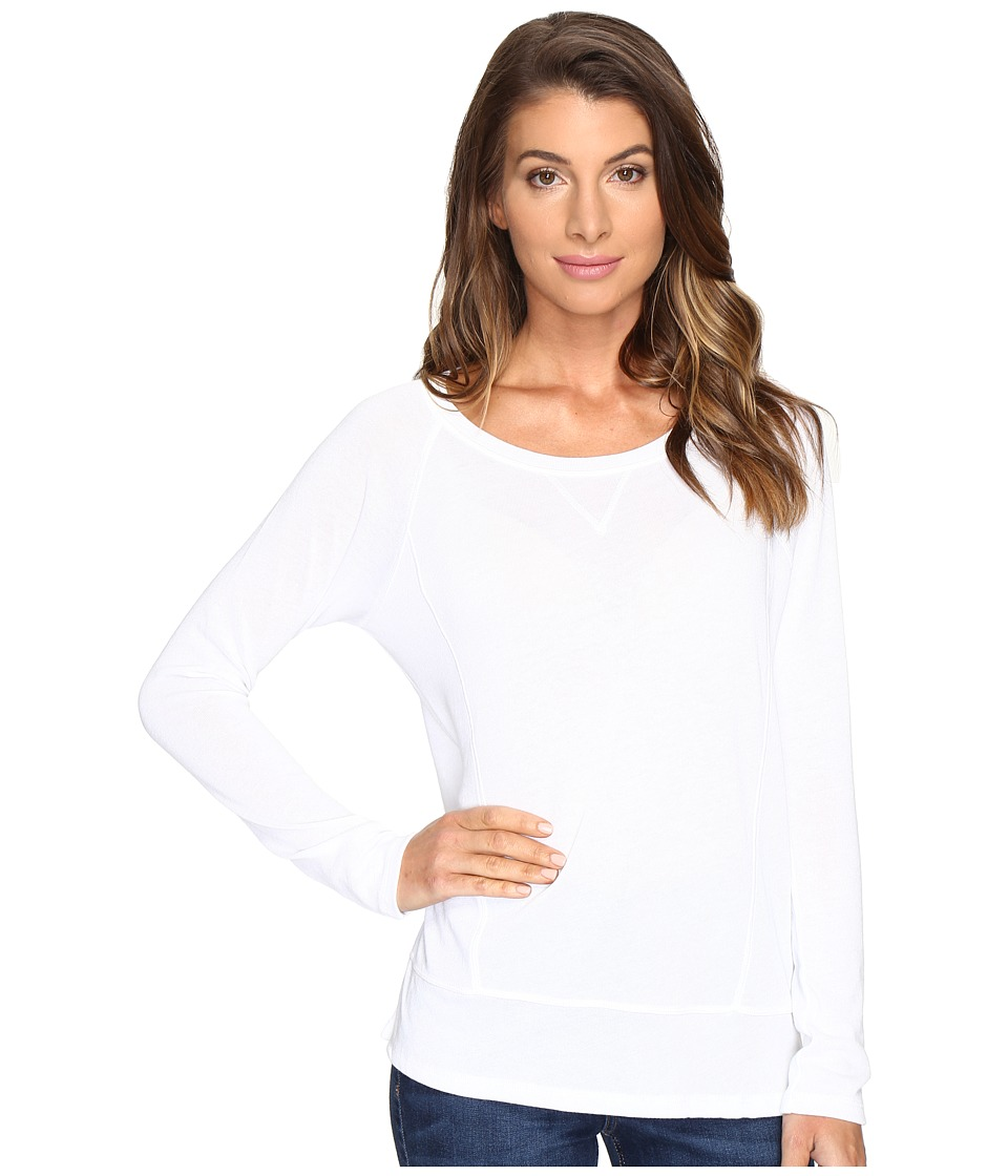 Lilla P - Long Sleeve Raglan (White) Women's Clothing