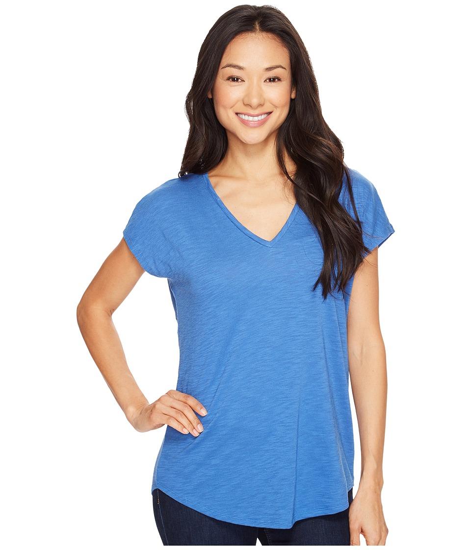 Lilla P - Easy V-Neck Tee (River) Women's T Shirt