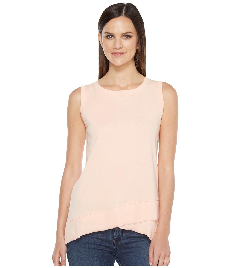 Lilla P - Rib Trim Tank Top (Bellini) Women's Sweater