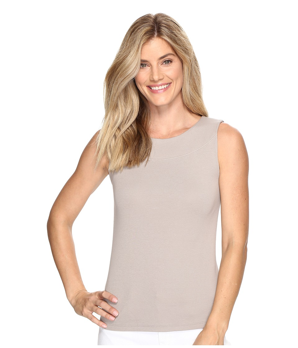 Lilla P - Boat Neck Tank Top (Twig) Women's Sweater