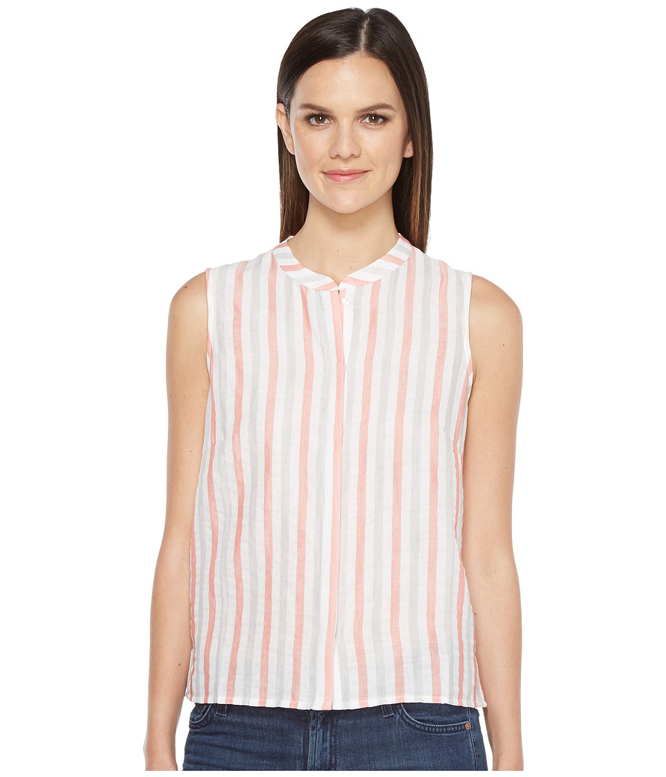 Lilla P - Sleeveless Blouse (Orange Crush) Women's Blouse