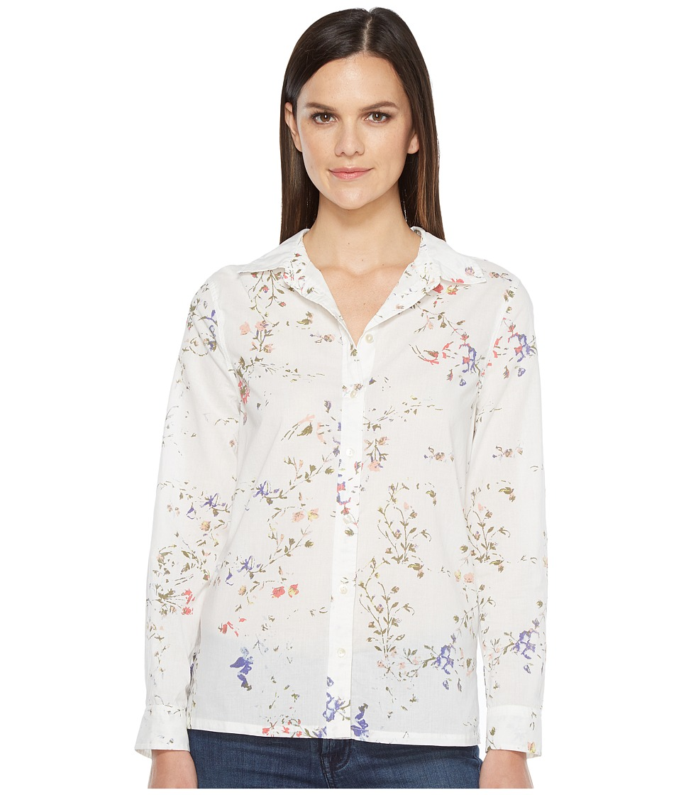 Lilla P - Long Sleeve Button Down Shirt (Vintage Floral) Women's Long Sleeve Button Up