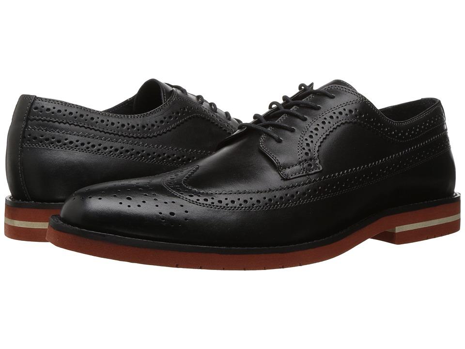 RUSH by Gordon Rush - Walton (Black) Men's Shoes