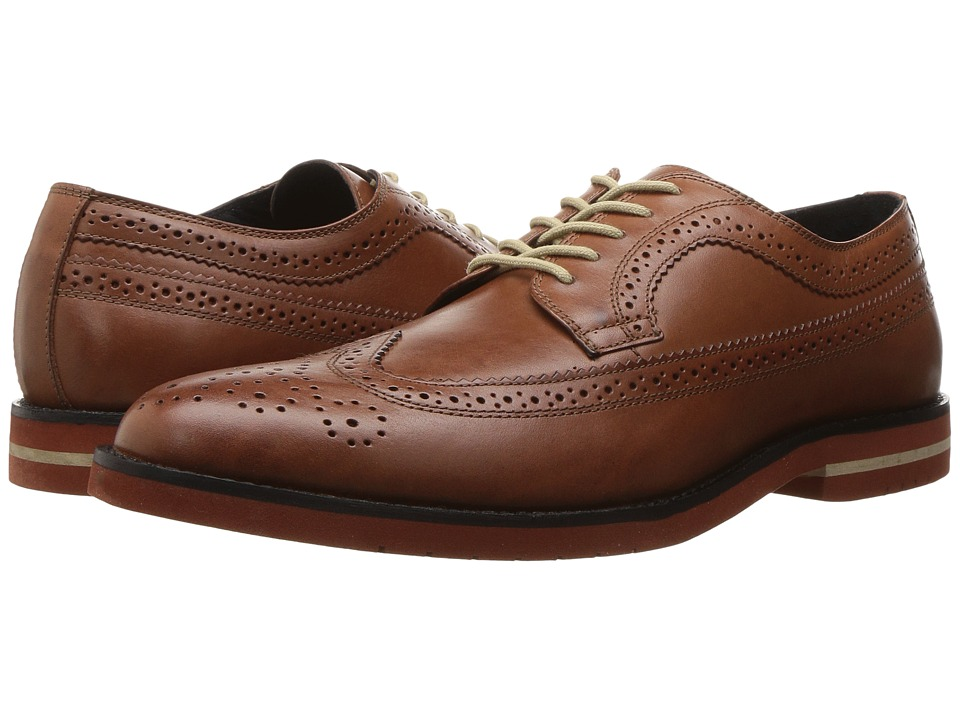 RUSH by Gordon Rush - Walton (Cognac) Men's Shoes